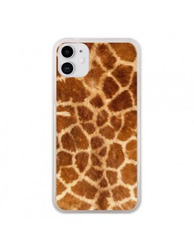 Coque iPhone 11 Giraffe Girafe - Laetitia