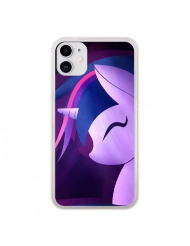 Coque iPhone 11 I Love Unicorn Licorne - LouJah