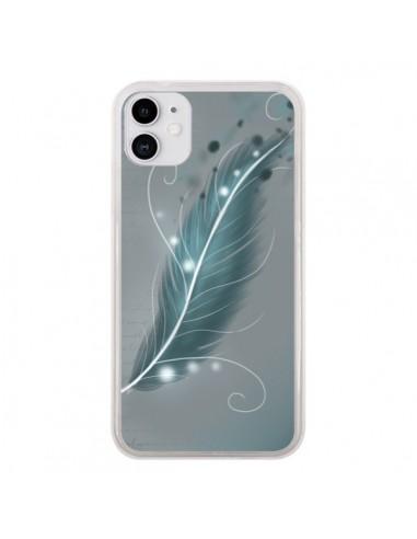 Coque iPhone 11 Plume Magique - LouJah