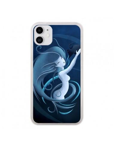 Coque iPhone 11 Aquarius Girl La Petite Sirene - LouJah