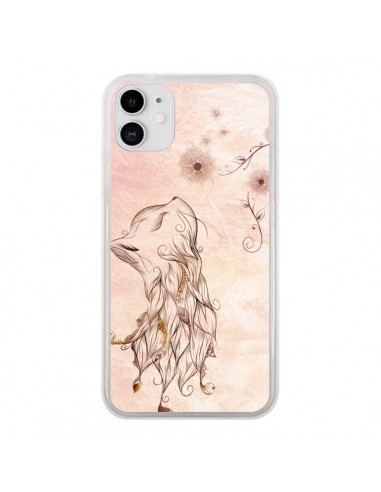Coque iPhone 11 The Little Kitty Fox Renard - LouJah