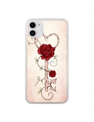 Coque iPhone 11 Key of Love Clef Amour - LouJah