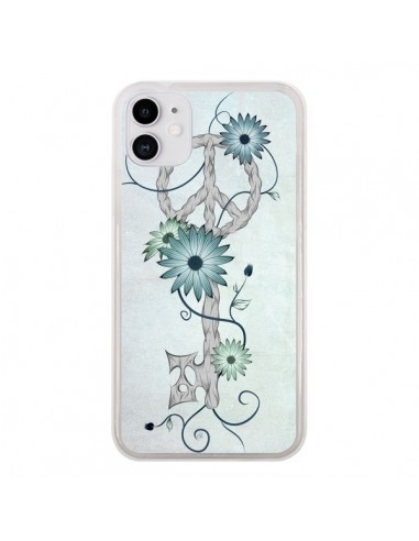 Coque iPhone 11 Key to Peace Clef Paix - LouJah