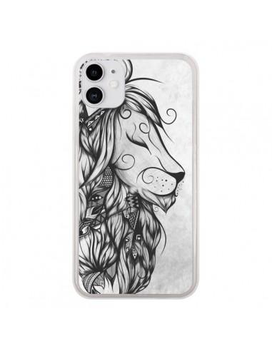 Coque iPhone 11 Poetic Lion Noir Blanc - LouJah