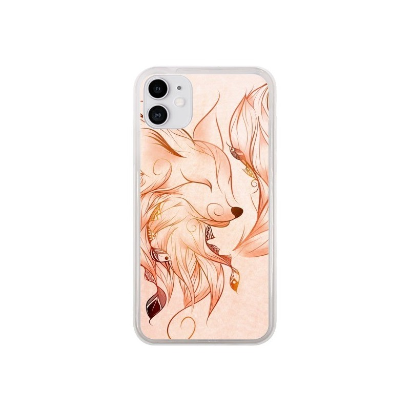 Coque iPhone 11 Fox Renard Rouge - LouJah