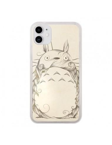 Coque iPhone 11 Poetic Creature Totoro Manga - LouJah