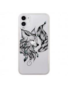 Coque iPhone 11 Renard Transparente - LouJah