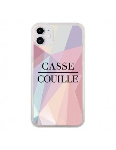 Coque iPhone 11 Casse Couille - Maryline Cazenave