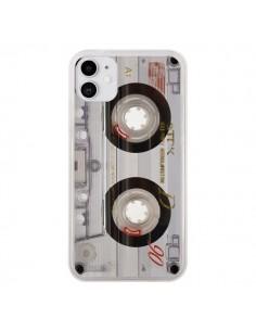 Coque iPhone 11 Cassette Transparente K7 - Maximilian San