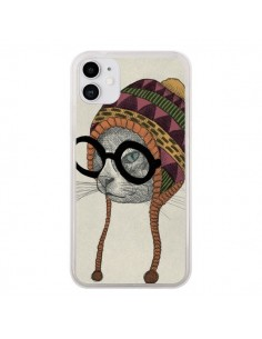 Coque iPhone 11 Chat Bonnet - Borg