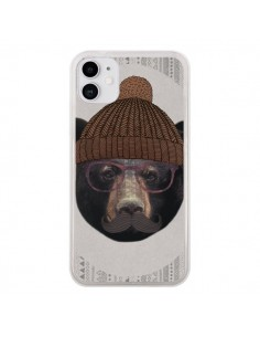 Coque iPhone 11 Gustav l'Ours - Borg