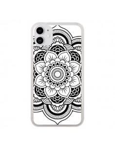 Coque iPhone 11 Mandala Noir Azteque - Nico