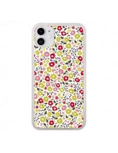 Coque iPhone 11 Liberty Fleurs - Nico