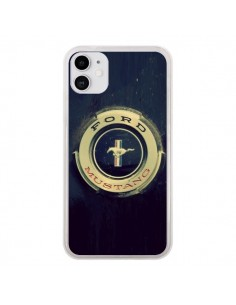 Coque iPhone 11 Ford Mustang Voiture - R Delean