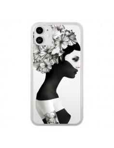 Coque iPhone 11 Marianna Fille Fleurs - Ruben Ireland et Jenny Liz Rome