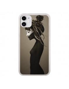 Coque iPhone 11 Fille Pensive - Ruben Ireland