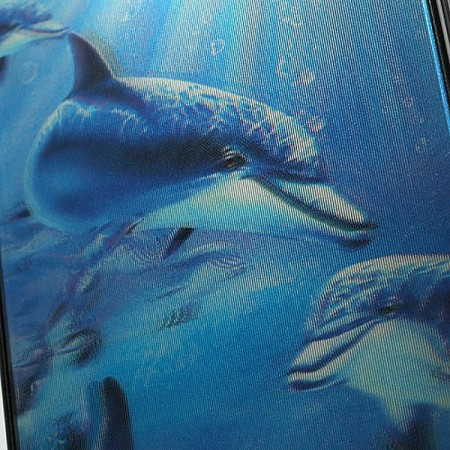 Coque Dauphins en 3D pour iPhone 4/4S