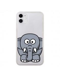 Coque iPhone 11 Elephant Animal Transparente - Yohan B.