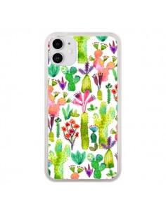 Coque iPhone 11 Cacti Garden - Ninola Design
