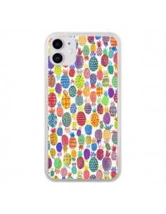 Coque iPhone 11 Cute Pineapples - Ninola Design