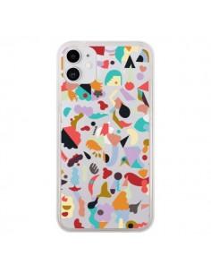 Coque iPhone 11 Dreamy Animal Shapes White - Ninola Design