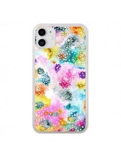 Coque iPhone 11 Experimental Surface Colorful - Ninola Design