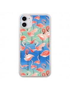 Coque iPhone 11 Flamingo Pink - Ninola Design