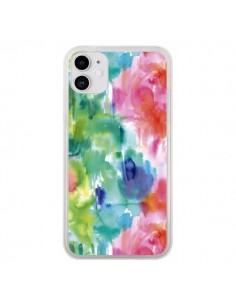 Coque iPhone 11 Organic Bold Shapes - Ninola Design