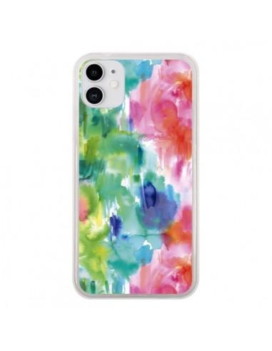 Coque iPhone 11 Organic Bold Shapes - Ninola Design