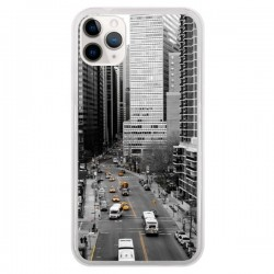 Coque iPhone 11 Pro New York Noir et Blanc - Anaëlle François