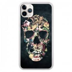 Coque iPhone 11 Pro Skull Vintage Tête de Mort - Ali Gulec