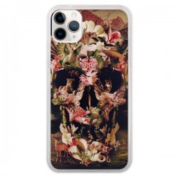 Coque iPhone 11 Pro Jungle Skull Tête de Mort - Ali Gulec