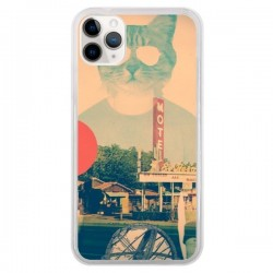 Coque iPhone 11 Pro Chat Fashion The Cat - Ali Gulec