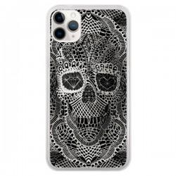Coque iPhone 11 Pro Skull Lace Tête de Mort - Ali Gulec