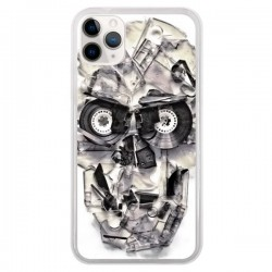 Coque iPhone 11 Pro Tape Skull K7 Tête de Mort - Ali Gulec