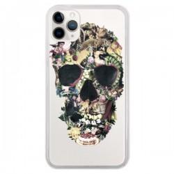 Coque iPhone 11 Pro Skull Vintage Tête de Mort Transparente - Ali Gulec