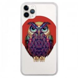 Coque iPhone 11 Pro Chouette Hibou Owl Transparente - Ali Gulec