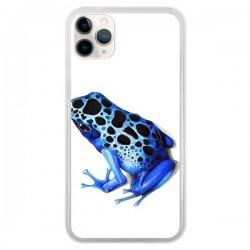 Coque iPhone 11 Pro Grenouille Bleue - Annya Kai