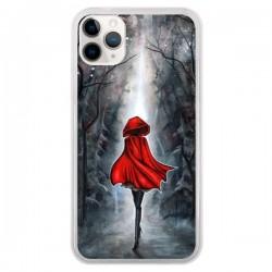 Coque iPhone 11 Pro Le Petit Chaperon Rouge Bois - Annya Kai