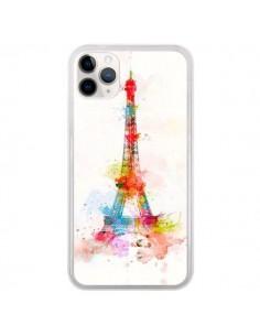 Coque iPhone 11 Pro Paris Tour Eiffel Muticolore - Asano Yamazaki