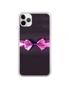 Coque iPhone 11 Pro Noeud Papillon Kitty Bow Tie - Asano Yamazaki