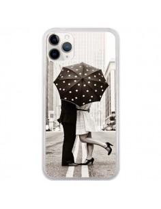 Coque iPhone 11 Pro Secret under Umbrella Amour Couple Love - Asano Yamazaki
