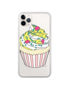 Coque iPhone 11 Pro Cupcake Dessert Transparente - Asano Yamazaki