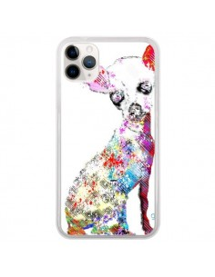 Coque iPhone 11 Pro Chien Chihuahua Graffiti - Bri.Buckley