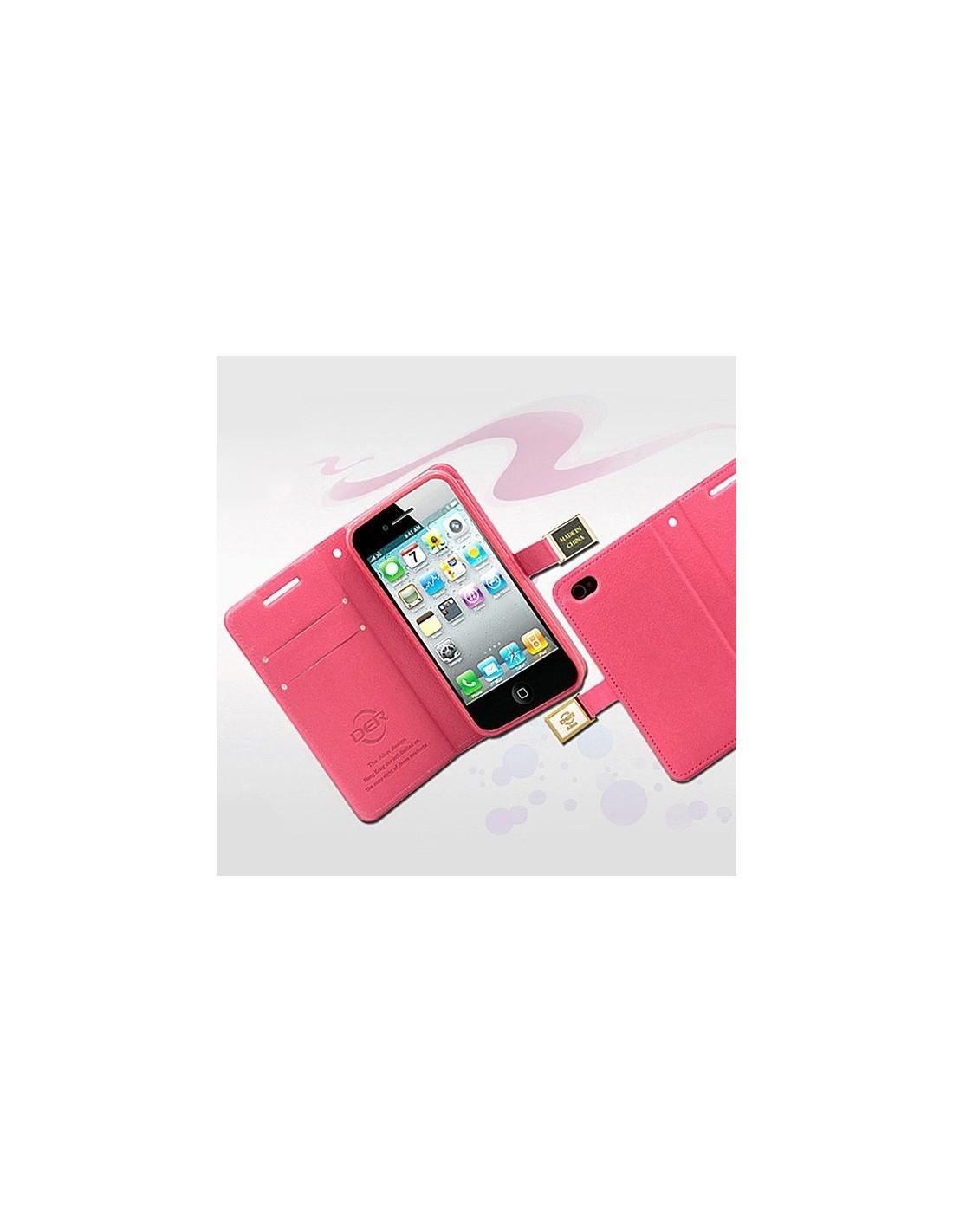 etui portefeuille en simili cuir pour iphone 5c. Black Bedroom Furniture Sets. Home Design Ideas