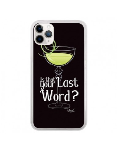 Coque iPhone 11 Pro Is that your Last Word Cocktail Barman - Chapo