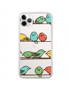Coque iPhone 11 Pro Oiseaux Birds Transparente - Eric Fan