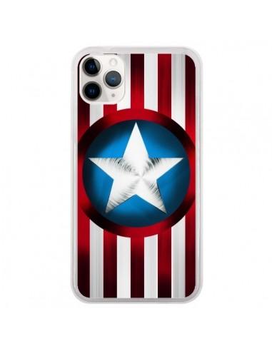 Coque iPhone 11 Pro Captain America Great Defender - Eleaxart