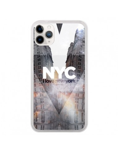 Coque iPhone 11 Pro I Love New York...