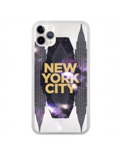 Coque iPhone 11 Pro New York City Orange - Javier Martinez